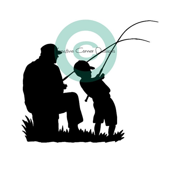Hunting clipart father and son #8