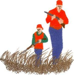 Hunting clipart father and son #3