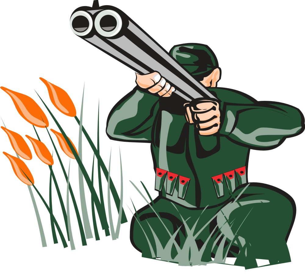 Hunting clipart hunter #6