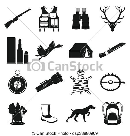 Hunting clipart icon #7