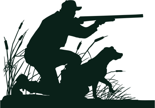 Hunting clipart waterfowl #13