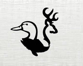 Hunting clipart waterfowl #14