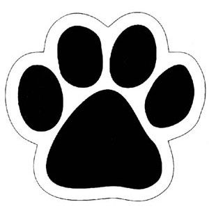 Paw clipart outline Best Free Paw paw Printable