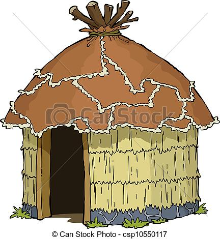 Old House clipart straw hut #8