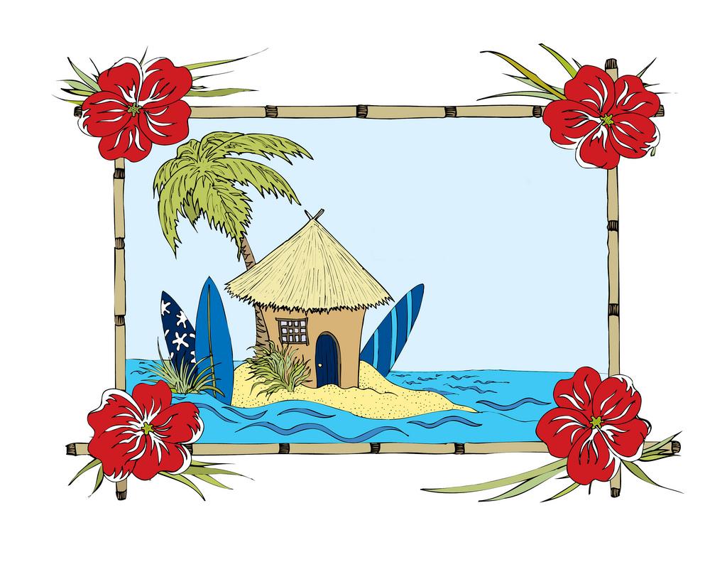 Hut clipart beach shack #5