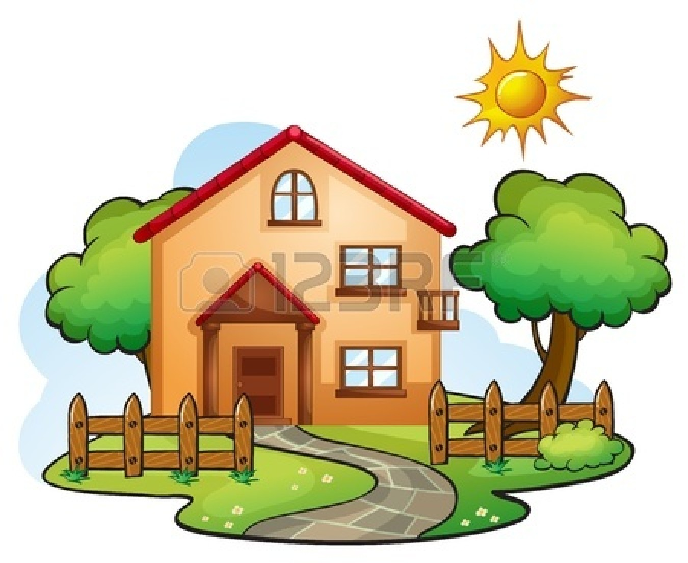 Illustration clipart beautiful house Images Cute cute%20house%20drawing Illustration House