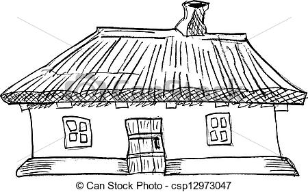 Shack clipart different house  illustration Illustrations  traditional