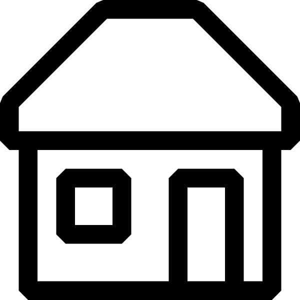 Place clipart simple house #6