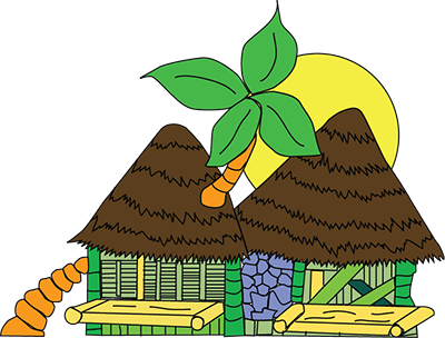 Hut clipart cabana Boutique the packed action Natura