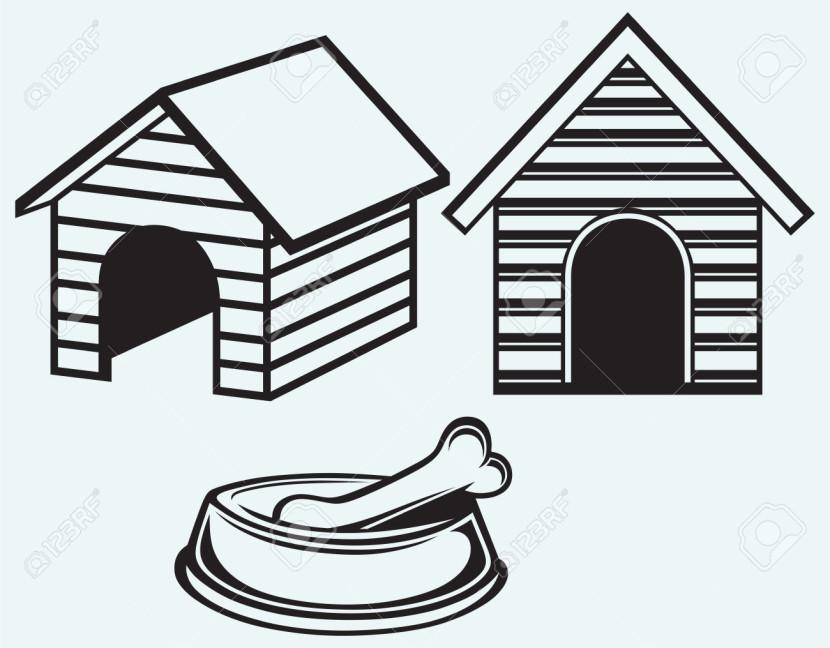 Hut clipart dog Clipartion House Design Home House