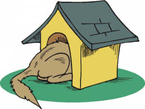 Hut clipart dog Download 3 Dogs Clip Doghouse