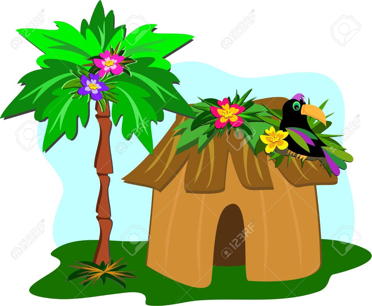 Hut clipart grass hut Grass Hut Clipart Grass Download