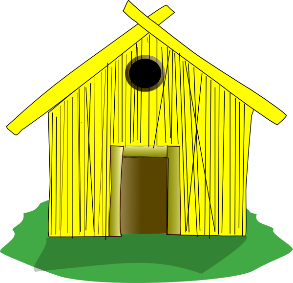 Old House clipart straw hut #4