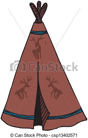 Aboriginal clipart hut #3