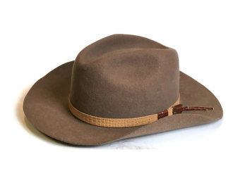 Western clipart indiana jones hat Jones Medium Hat Outback Etsy