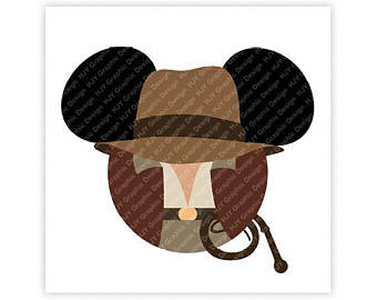 Western clipart indiana jones hat Hat Minnie Indiana Indiana Mouse