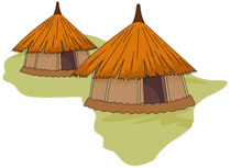 Hut clipart inside From: Pictures hut Africa Kb