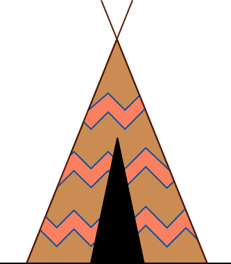 Triangle clipart tent Native Download Nomadic Native Clipart