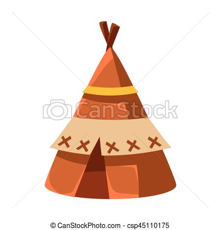 Native American clipart indian hut Native Leather Hut Wigwam of