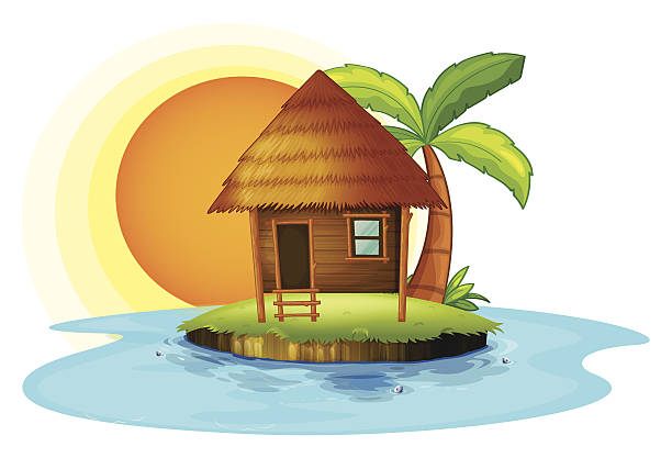 Shack clipart nipa hut Art of Clip hut nipa
