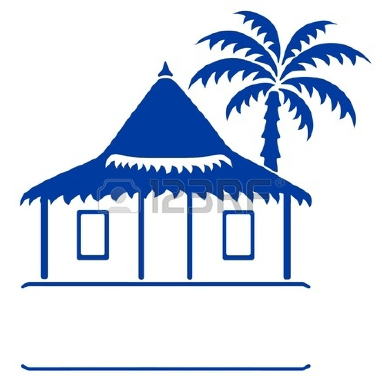 Hosue clipart bungalow Clipart Clipart Art Outline Free