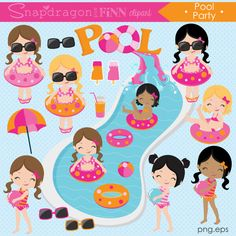 Hut clipart pink party Summer Hula clipart clipart Pink