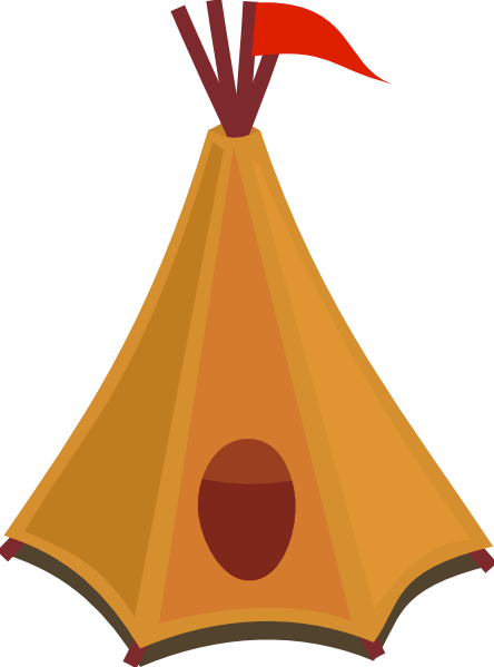 Native American clipart teepee tent Free Tent Domain & Art