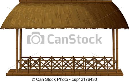 Hut clipart thatched #1