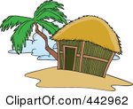 Hut clipart tropical Hut Zinnia Clipart Tropical Clipart