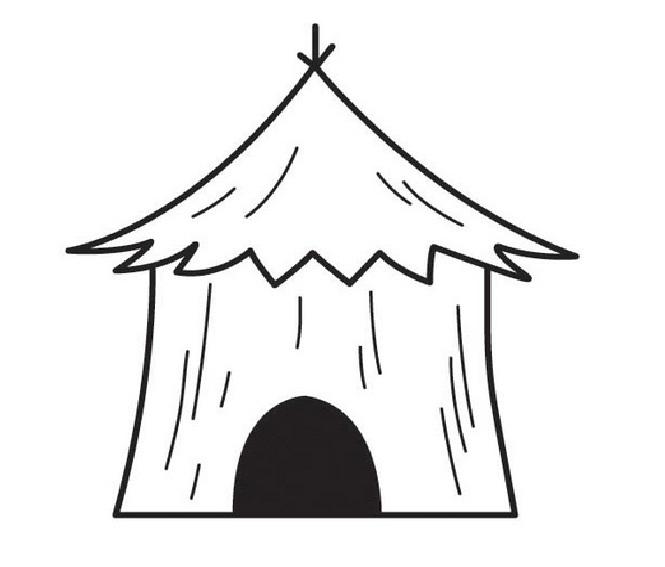 White House clipart hut Clipart Free  Free Hut