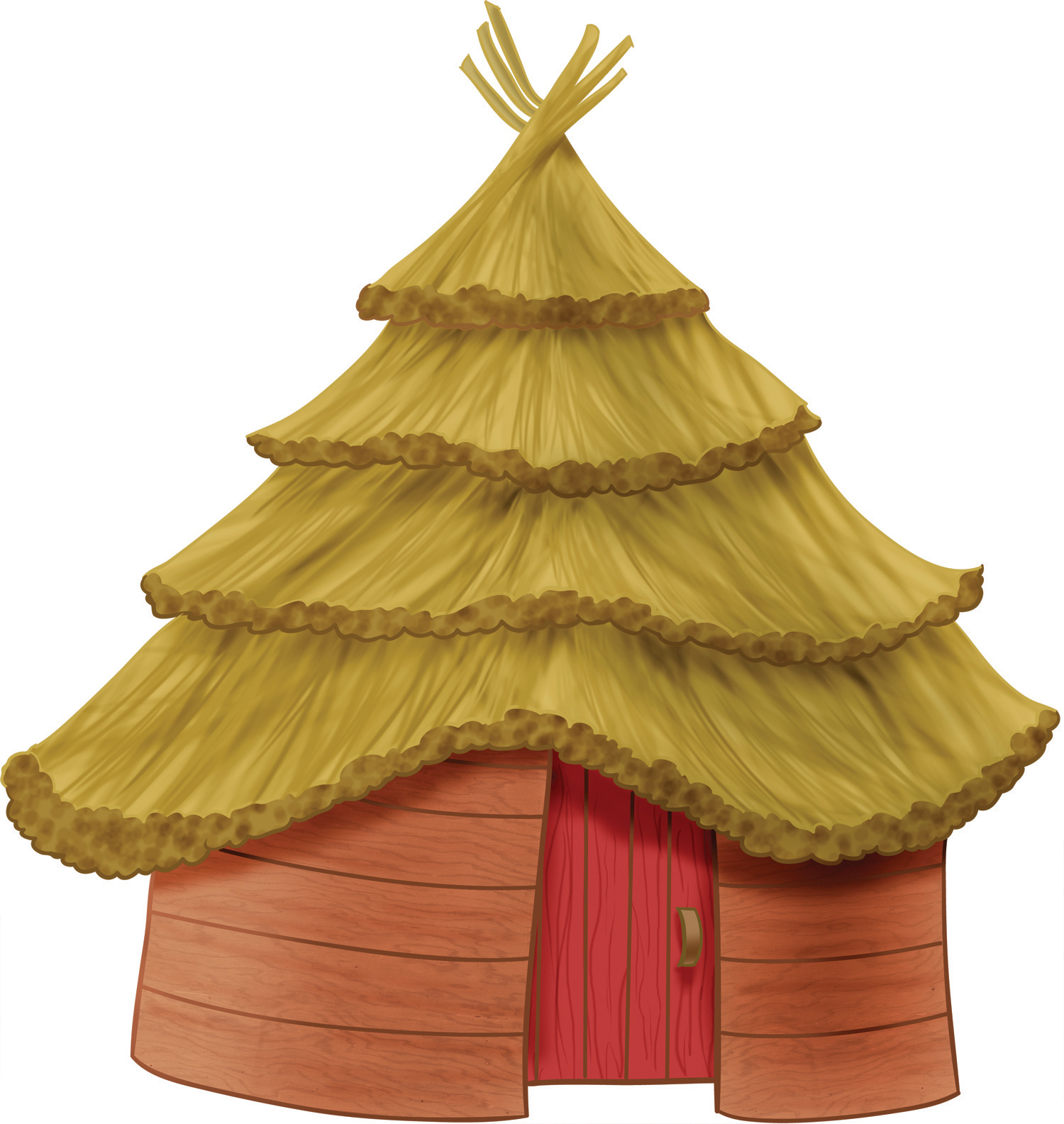 Shack clipart different house Hut Clip Free Hut Clipart