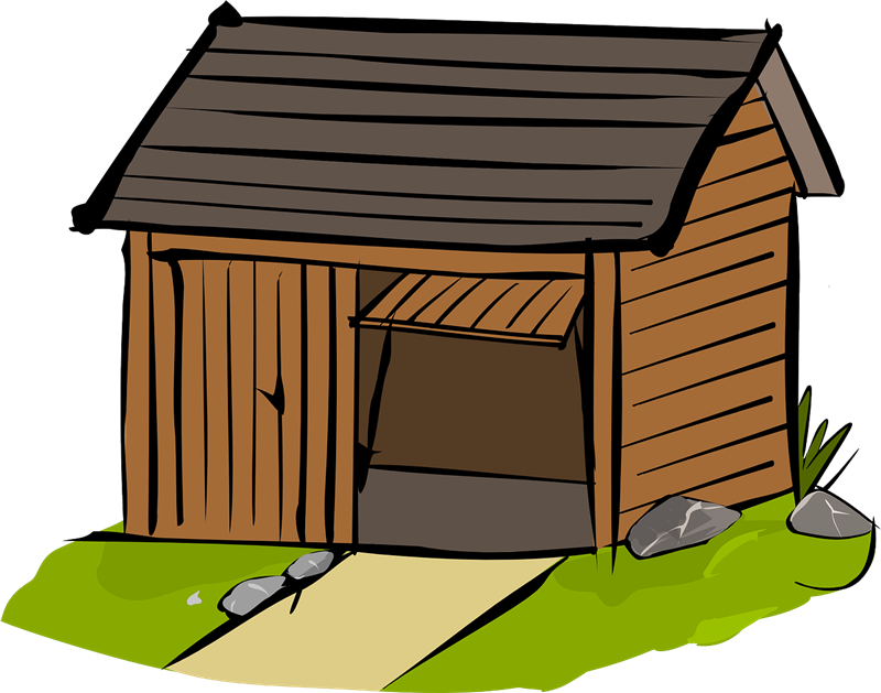 Old House clipart old shack To & Art Free Clip