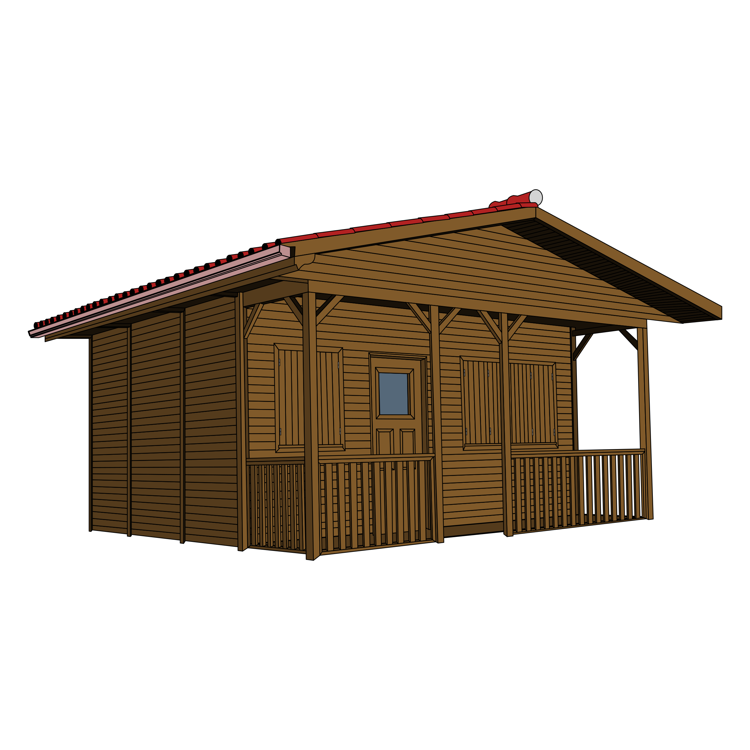 Hut clipart wooden house Clipart House Wooden Wooden House