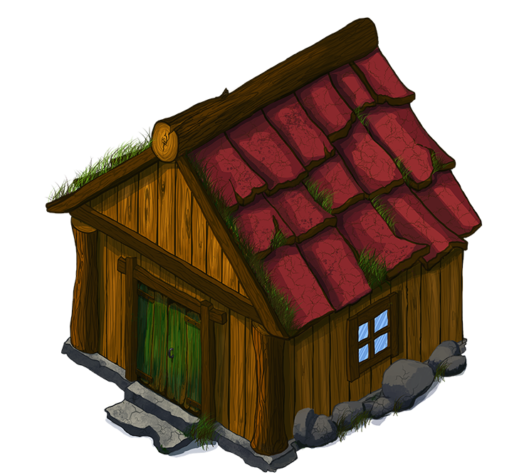 Hut clipart wooden house Domain Wooden Clip 2 ·