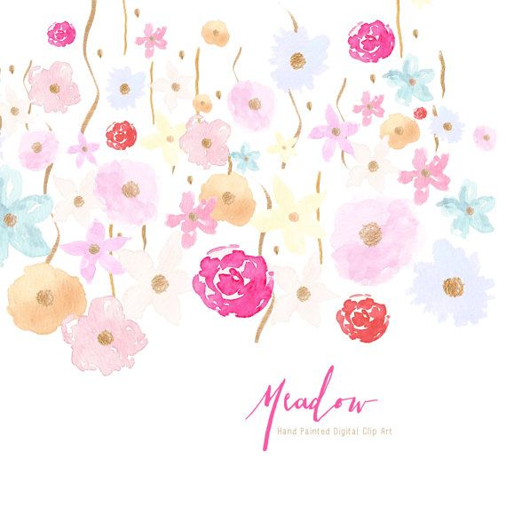 Paint clipart watercolor paint Images Flowers on 127 Pinterest
