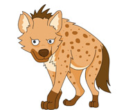 Hyena clipart Illustrations Size: Hyena Graphics Kb