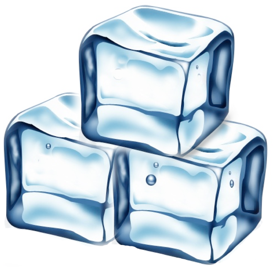 Ice clipart Ice Ice clipart cube melting
