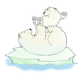 Skiing clipart polar bear Bear On Bear – Art