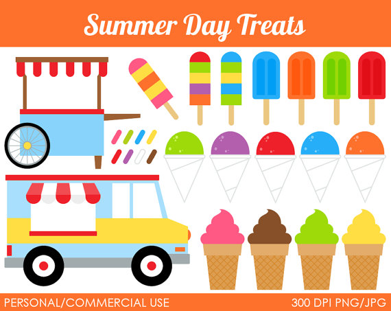 Ice Cream clipart summertime Cliparts clipart treat Zone Treat