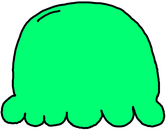 Ice Cream clipart top Clipart Lime to Green to