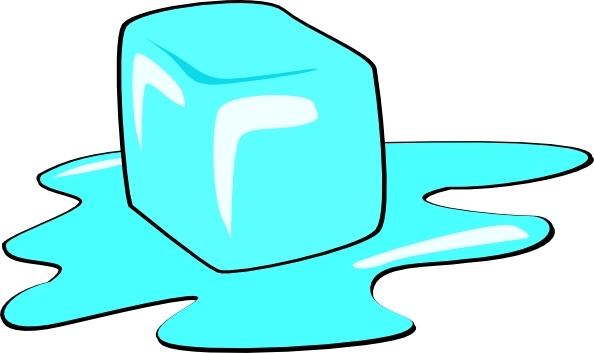 Ice Cube clipart Open Ice svg drawing vector