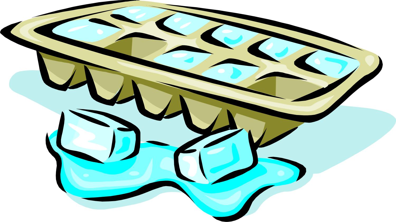 Ice Cube clipart cartoon Art Clipart cube tray tray