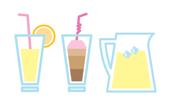 Beverage clipart lemonade pitcher  ice beverage cafe cup