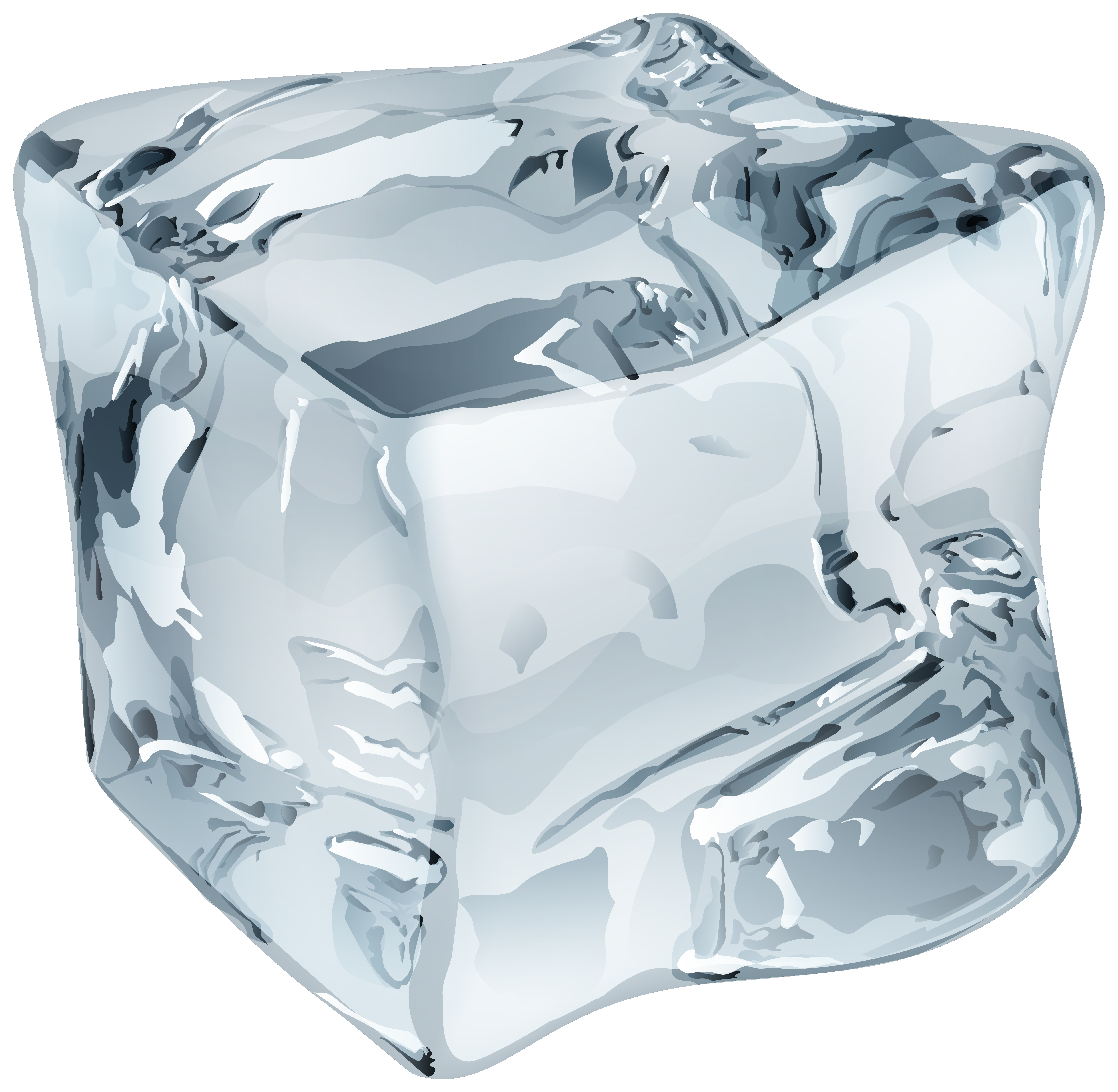 Ice Cube clipart cute Ice WEB Art PNG Large