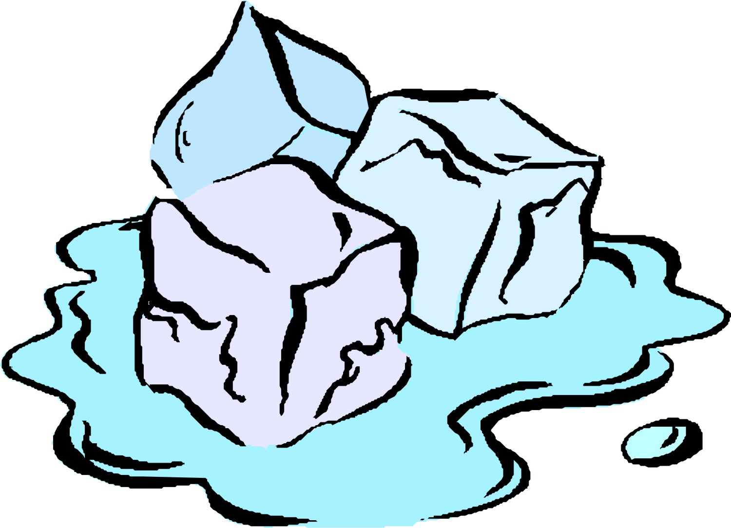 Ice Cube clipart cute Clipart free melting Skates clipart