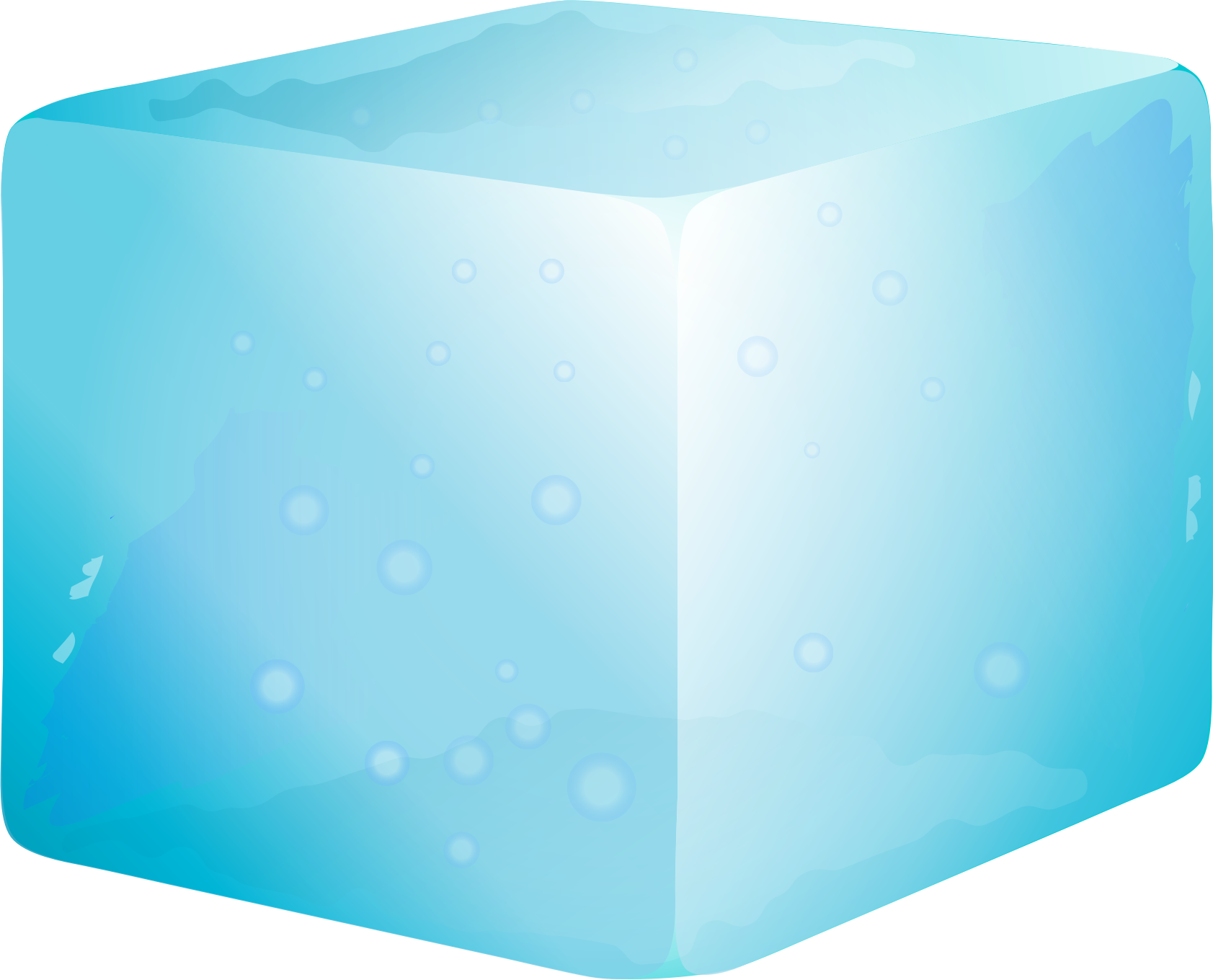 Cube clipart cartoon Clipart cube Ice Ice cube