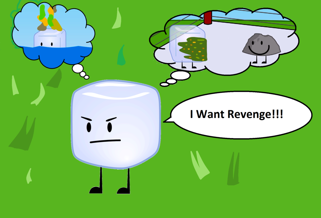 Ice Cube clipart icy By Cube Bfdi Bfdi Revenge