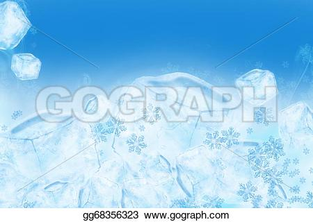 Ice Cube clipart icy And blue Clipart creams frozen
