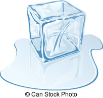 Ice Cube clipart melted Of Blue editable ice Vectors