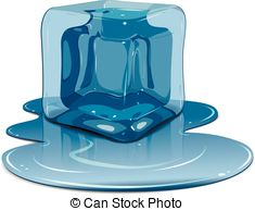 Ice Cube clipart melted Ice free on Melting